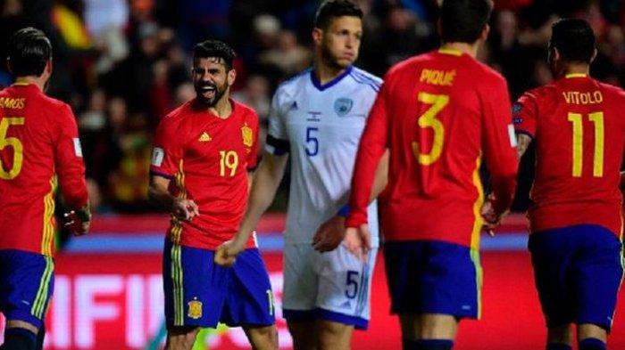 Diego Costa Alami Cedera, Tapi Tetap Bersama Timnas Spanyol. Ini Alasannya