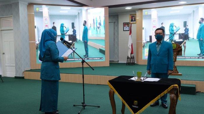 Suami Walikota Tanjung Pinang Jabat Ketua PKK, Rancang Pusbakum di Tiap Kecamatan