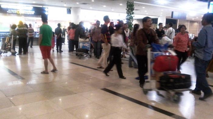 Suasana di Bandara Kualanamu, Sumatera Utara (Sumut) beberapa waktu lalu