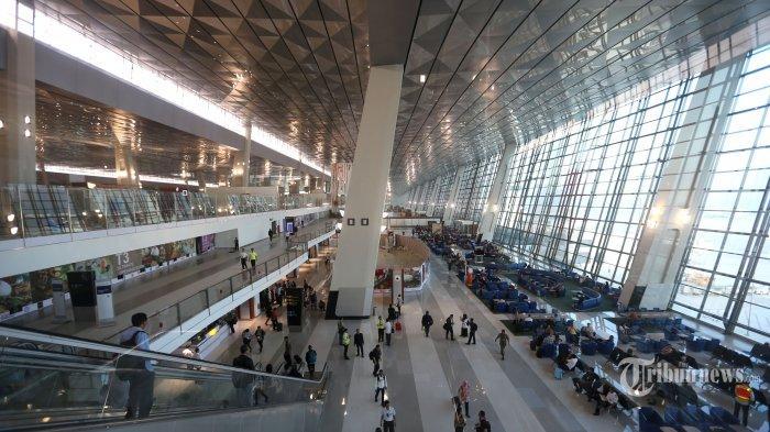 CANGGIH! Kamera Pengawas di Terminal 3 Ultimate Bandara Soeta Bisa Deteksi Wajah Buronan