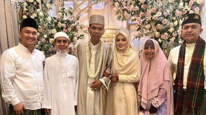 SAH! Abdul Somad Menikah dengan Gadis Asal Jombang, Eks Istri Doakan Pernikahan ke-3 Langgeng
