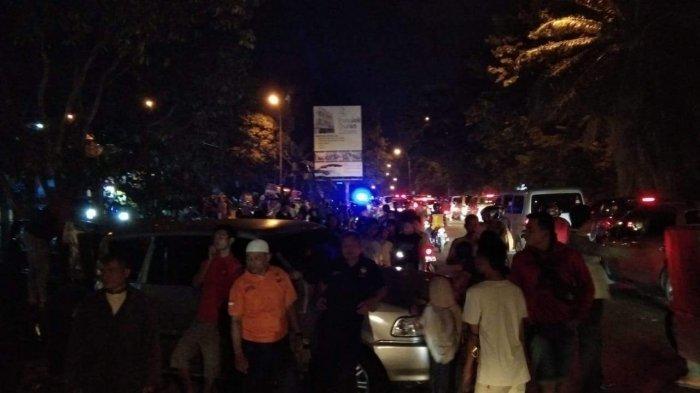 Streak Accident on Gajah Mada Tiban street, Batam, A Number of Riders was get Injured