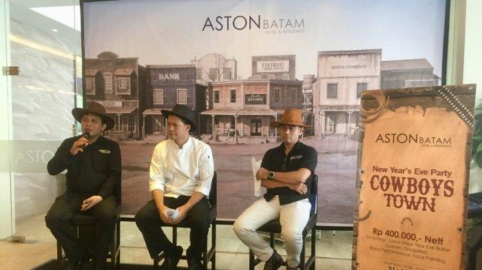 Aston Batam Hotel & Residence Held New Year's Eve Party, Presents 'Cowboy Town'