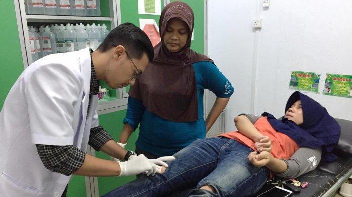 Libur Idul Fitri, Dokter di Puskesmas Tanjung Balai Karimun Tetap Bekerja 24 Jam