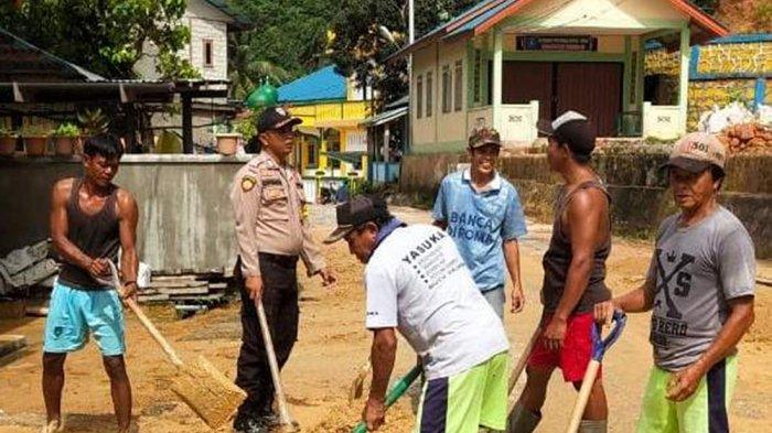 Selain Dilanda Banjir, Warga di Tiga Desa Tambelan Terkena Musibah Tanah Longsor