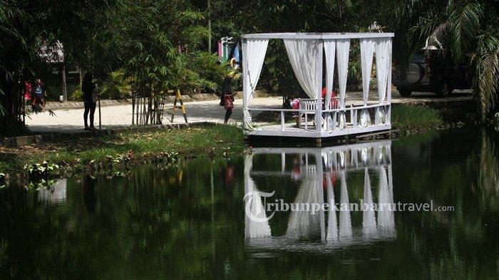 21 Wahana Bermain Taman Rekreasi Alam Mayang Pekanbaru Kembali Dibuka untuk Umum