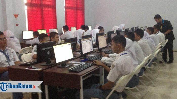 Pelaksanaan UNBK Pertama Tingkat SMP di Anambas, Provinsi Hanya Restui Satu Sekolah