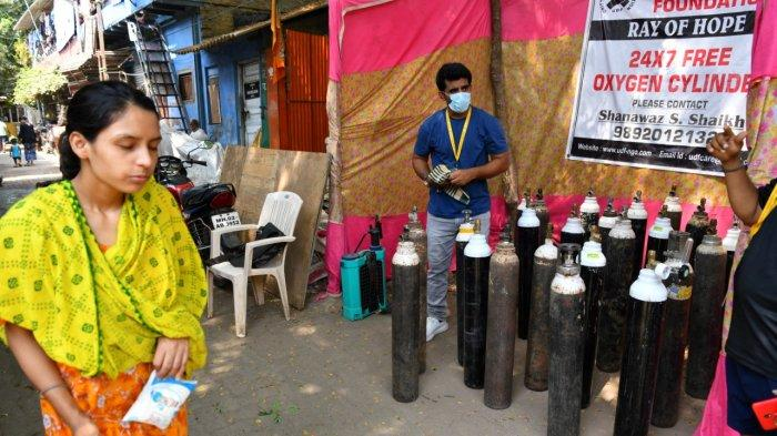 'Jangan Ada Lagi yang Mati' Anak Muda India seperti Virus Lawan Covid-19, tanpa Nama tanpa Label