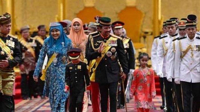 Kekayaannya Mengalahkan Raja Arab Saudi, Begini Gaya Hidup Sultan Brunei dan Keluarga