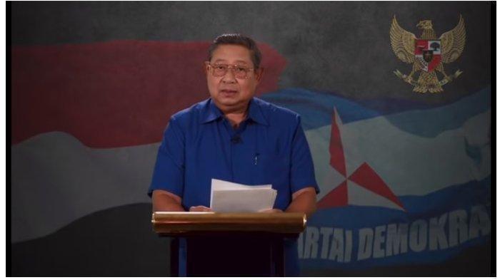 Ketua Majelis Tinggi Pertimbangan Partai Demokrat, Susilo Bambang Yudhoyono (SBY) curhat di tengah kisruh Partai Demokrat.