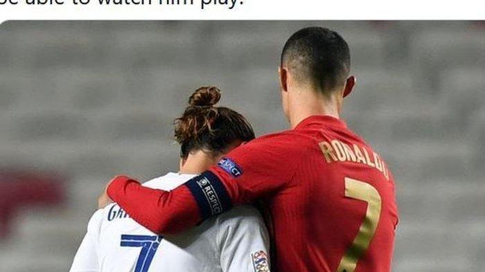 Susunan Pemain Portugal vs Prancis, Adu Tajam Cristiano Ronaldo vs Antoine Griezmann