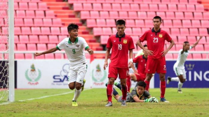 Timnas U16 Indonesia - Sutan Zico, Tembakan Akurat Pertama Langsung Gol