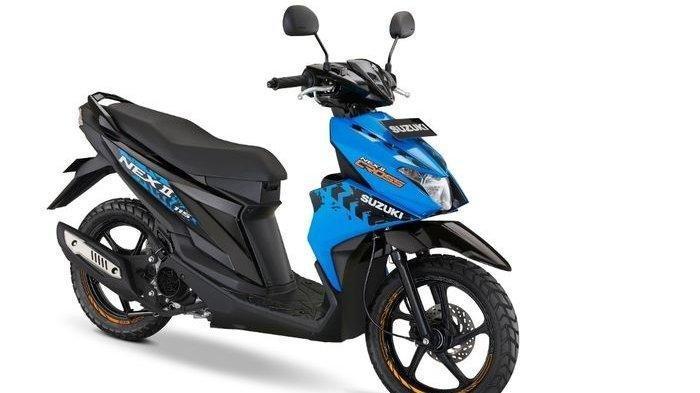 Resmi Diluncurkan, Varian Baru Suzuki Nex II Punya Kaki-kaki Kekar dan Ban Pacul