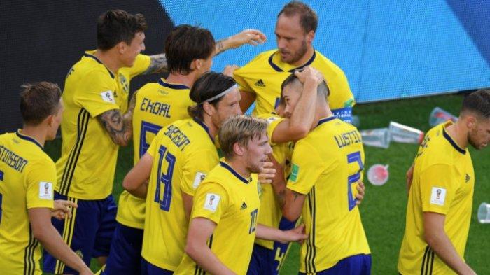 Terus Digempur, Swedia Justru Berhasil Pulangkan Swiss dengan Skor Tipis 1-0