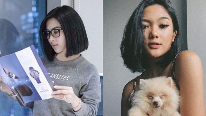 4 Model Rambut Pendek Yang Cocok Bagi Si Wajah Bulat Ala Artis Mulai Dari Syahrini Hingga Gisela Tribun Batam