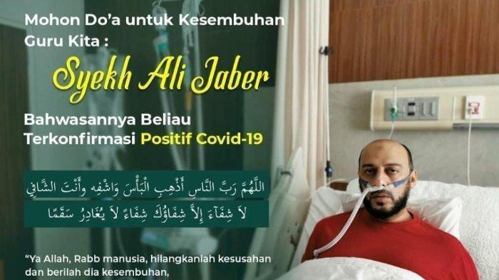 INI Wasiat Syekh Ali Jaber ke Istri dan Anak, Sempat Kritis karena Corona