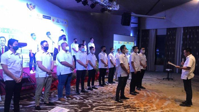 HIPMI Bangkit di Tengah Pandemi, Huzerin Resmi Lantik Pengurus Baru HIPMI Kota Batam