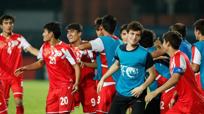 AFC U16 2018 - Mengejutkan, Timnas U16 Tajikistan ke Final, Kalahkan Korsel Lewat Adu Penalti