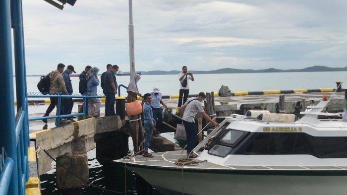 Pelabuhan Bulang Linggi Tak Ada Layanan GeNose, Penumpang Tes di Pelabuhan Roro: Ribet