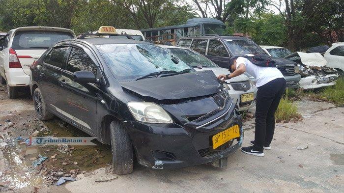 Pengendara Motor Kritis Setelah Tabrak Taksi, Kecelakaan Lalulintas Awal Tahun di Batam