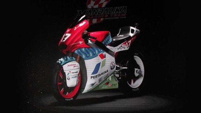 Jelang MotoGP 2021, Mandalika Racing Team Indonesia Resmi Diluncurkan, Bersaing di Kelas Moto2