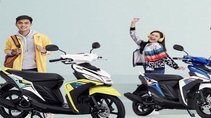 Tampilan Baru Yamaha Mio M3 125, Tersedia 4 Pilihan Warna Trendi
