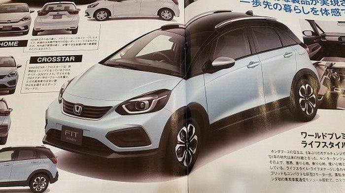 Penampilan Dini New Honda Jazz Menjelang Debut di Tokyo Motor Show 2019