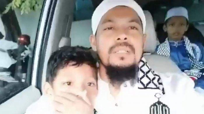 Wahidin ditahan dan jadi tersangka ujaran hasutan kepada masyarakat untuk melawan petugas