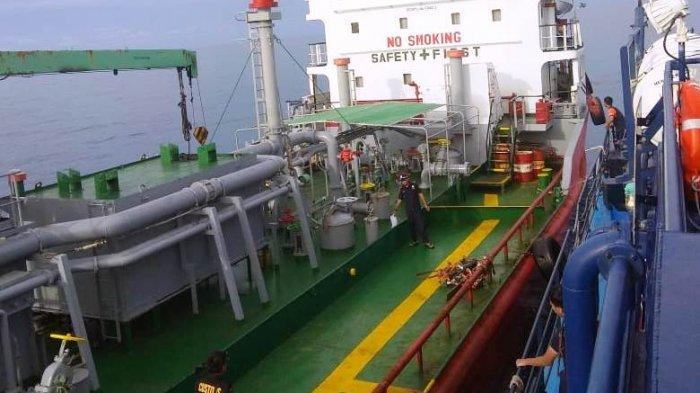 BC Kepri Tangkap Kapal Tanker Bawa Limbah. Menkeu Sri Mulyani Pimpin Langsung Preskon di Kepri