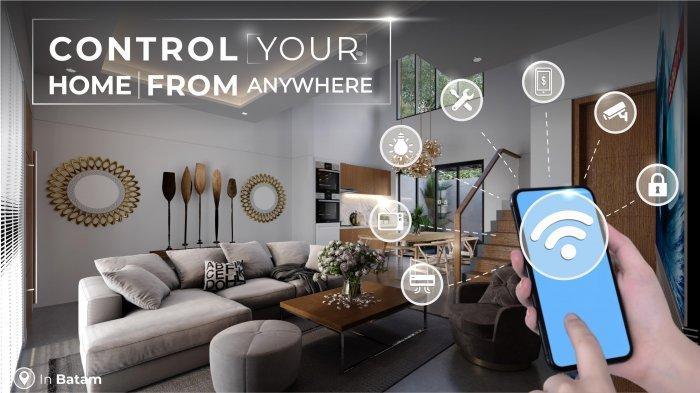 Ilustrasi - Teknologi Smart Home yang digagas oleh Central Raya Group salah satu pengembang perumahan modern di Batam