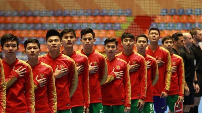 Hasil Piala Asia Futsal U20 2019 - Tekuk Iran 1-2, Timnas Indonesia Pastikan Lolos ke Perempat Final