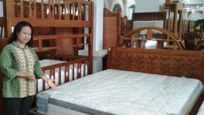 Diskon Khusus Pembelian Tempat Tidur Jati Minimalis Di Tabita Furniture Batam Tribun Batam