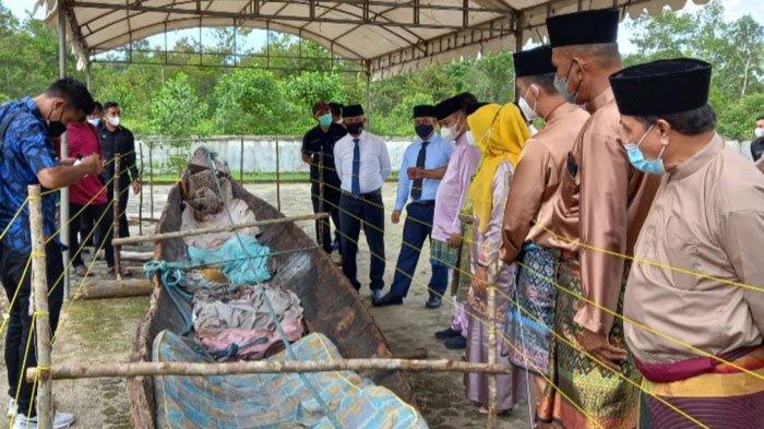 Update Temuan Perahu Diduga Cagar Budaya, Kini Dipindah ke Museum Lingga