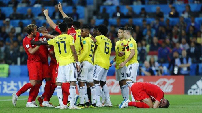 5 Fakta Laga Kolombia vs Inggris. Kemenangan Penalti Pertama Inggris dan Rekor Gol Harry Kane