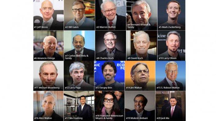 Gusur Bill Gates dan Buffet, Bos Amazon Jeff Bezos Jadi Orang Terkaya di Dunia