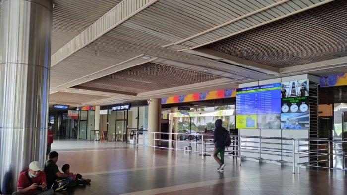 Batam Hang Nadim Airport Arrival Terminal was Quiet Since Flight Rules Tightened