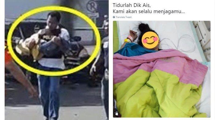 Ais, Gadis 8 Tahun yang Selamat dalam Aksi Bom Orangtuanya di Surabaya Sudah Mau Bicara