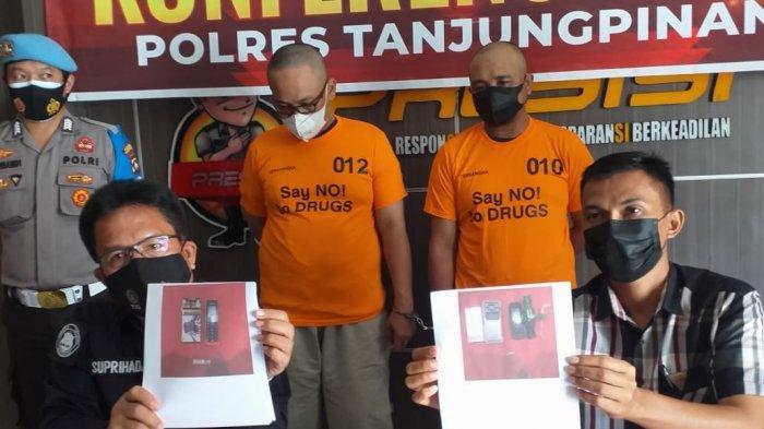 Pengedar Sabu Nangis di Polres Tanjungpinang, 2 Kali Ditangkap, Mengaku Terbelit Hutang