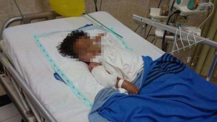 Bocah 10 Tahun Disiram Ibu Kandung Pakai Air Panas, Dijambak Hingga Dihempaskan ke Dinding