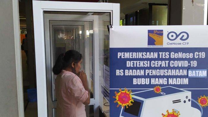 BREAKING NEWS, Tes GeNose di Bandara Hang Nadim Batam Beroperasi Hari Ini