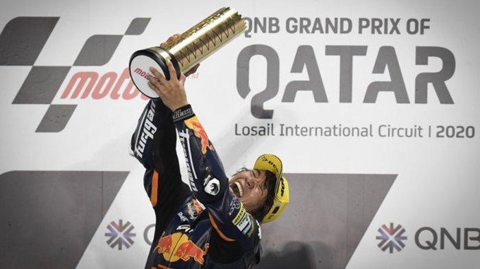 MotoGP Qatar 2020 - Adik Valentino Rossi Gagal Finish, Tetsuta Nagashima Juara Moto2 GP Qatar