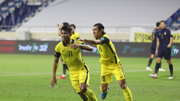 Hasil Kualifikasi Piala Dunia 2022 - Malaysia Kalahkan Thailand, Vietnam Lolos ke Babak Ketiga