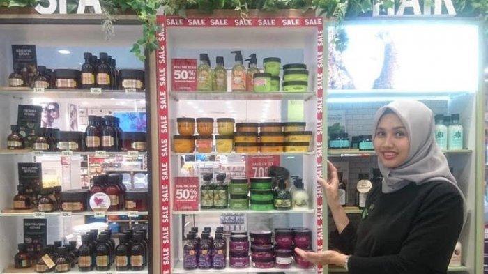 Penawaran Spesial The Body Shop di Awal Tahun, Produk Clearence Gift Diskon 50 Persen