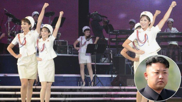 Dipilih Kim Jong Un Jadi Hiburan Ala Korea Utara, Inilah Pesona Girl Band Moranbong
