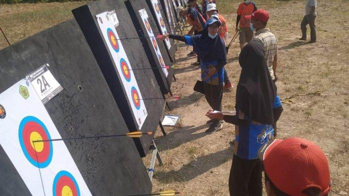 Foto pemanah muda BIFZA ASC saat mengikuti Kota Tinggi Open Remote Archery Tournament 2021 beberapa hari lalu.