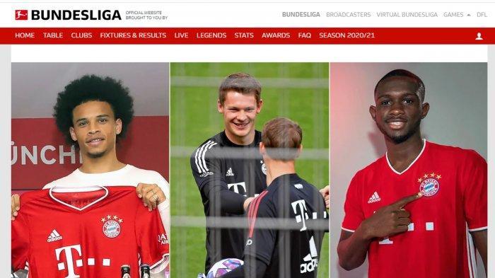 UPDATE Transfer Liga Jerman, Rekrut Leroy Sane, Nübel & Nianzou, Munchen Pulangkan Coutinho, Perisic