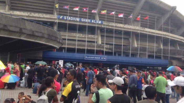 KEREN! Ini Baru El Classico Indonesia vs Malaysia, Lihat Suasana Bersahabat Supporter