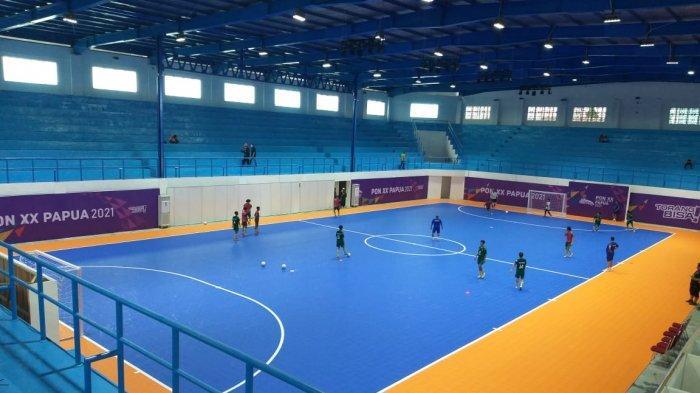 PON PAPUA, Tim Futsal Kepri Perdana Lawan NTB, Suhendra: Kondisi Pemain Siap Tempur