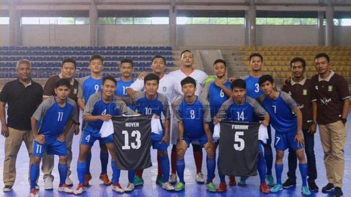 Jelang PON di Papua 2020, Tim Futsal Kepri Dapat Jatah Dua Pemain Baru, Ini Rencananya