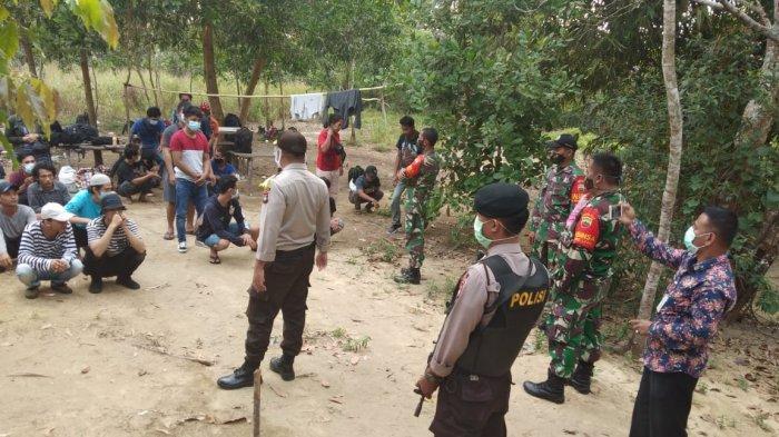 48 TKI Ilegal Masuk Bintan Lewat Pelabuhan Tak Resmi Kini Dititipkan di Kantor Camat